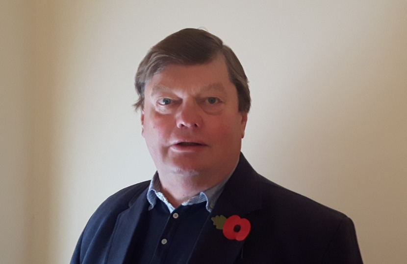Leader of Stratford on Avon District Council Tony Jefferson